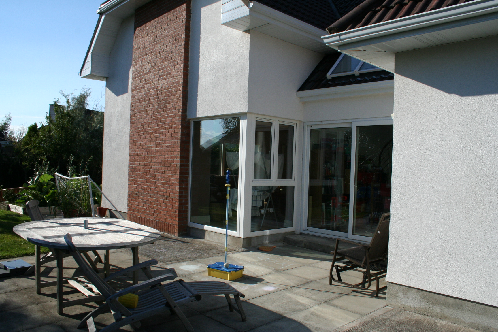 Exterior of Kitchen extension