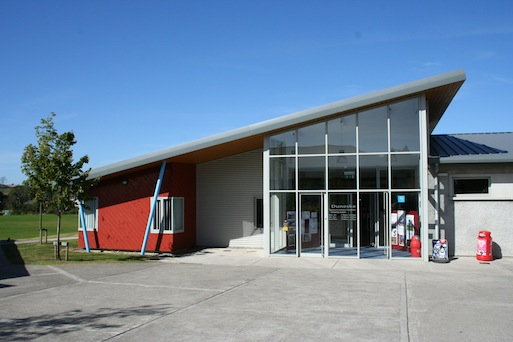 Exterior of Duneske Leisure Centre