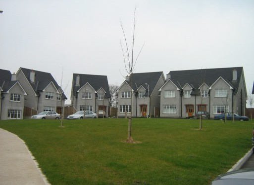 Exterior of Loughboy Housing Estate