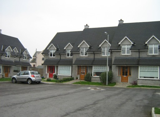 Exterior of Stonyford Housing Estate Kilkenny