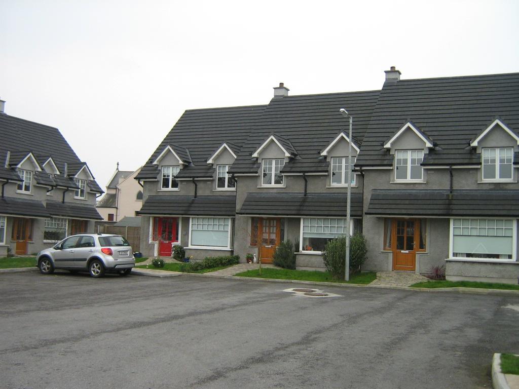 Exterior of Stonyford Housing Estate Kilkenny