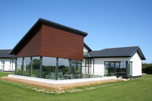 Exterior of Garden Extension