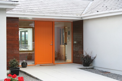 Exterior of Timber Extension